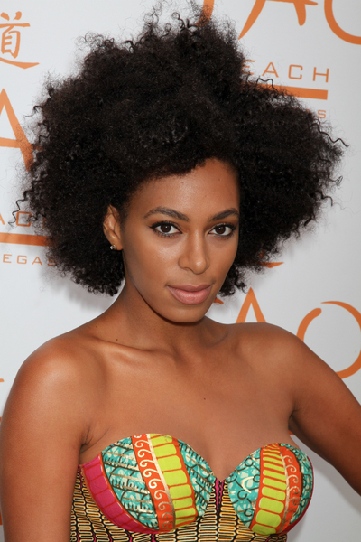 Solange Knowles Special DJ Set at Tao Beach in Las Vegas on June 12, 2010