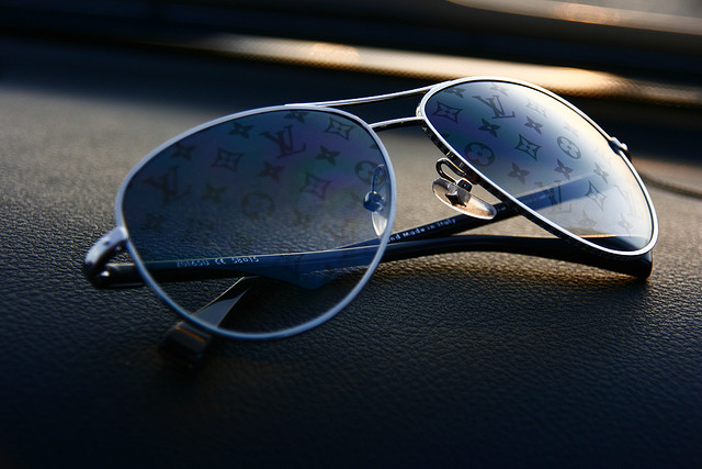GETDipped: Conspiration Pilote Sunglasses by Louis Vuitton