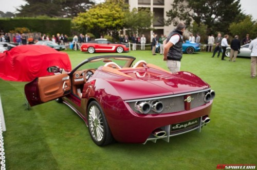 Spyker-B6-Venator-Spyder-Concept-at-Pebble-Beach-Rear1-640x426