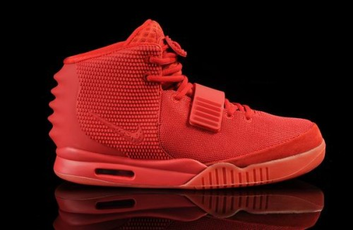 901-Kanye West Nike Air Yeezy 2 Red October